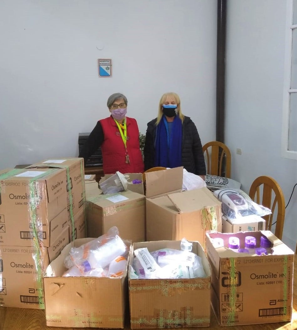 Donación de soportes nutricionales